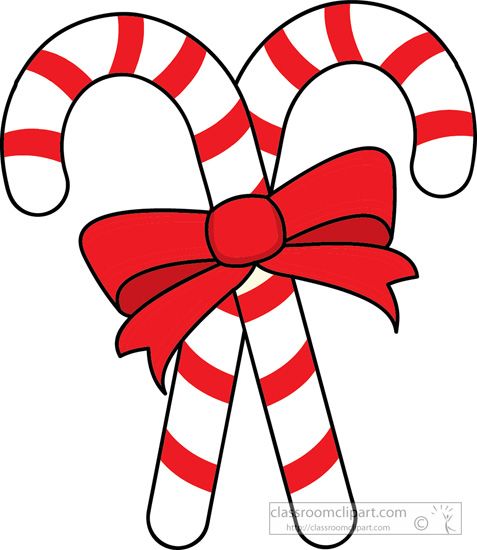 Candy canes clip art.