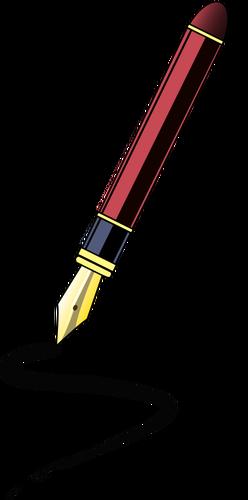 Senti a ponta de caneta vector clipart.
