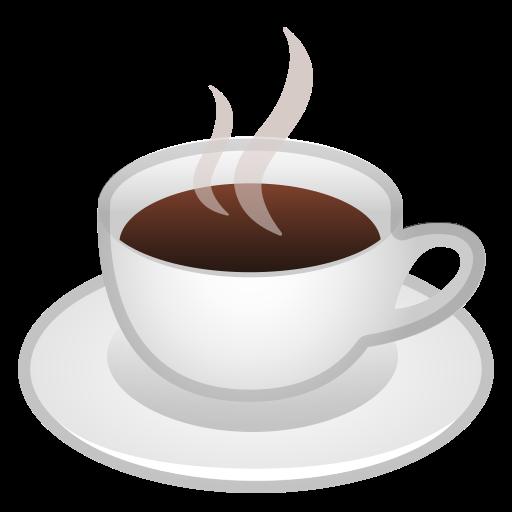 Panas minuman, kopi, cangkir Ikon Gratis dari Noto Emoji Food Drink.