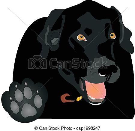 Vectors Illustration of Talk to the Paw..