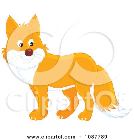 cute fox face clipart #13