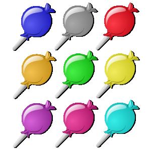 Candies Clip Art Download.
