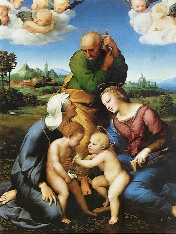 Canigiani Holy Family.