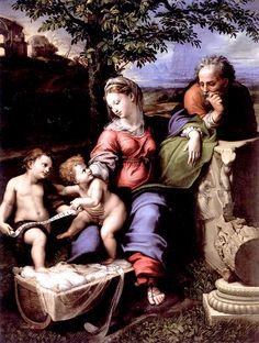 Raphael. Sanzio The Canigiani Holy Family.