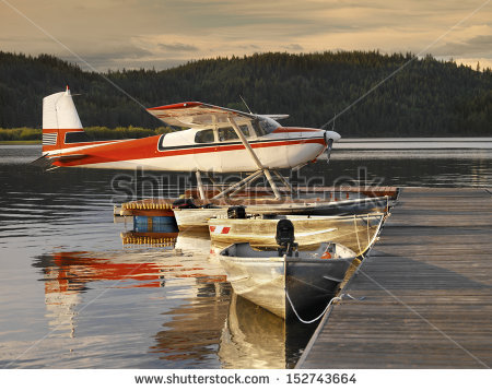 Floatplane Stock Photos, Royalty.