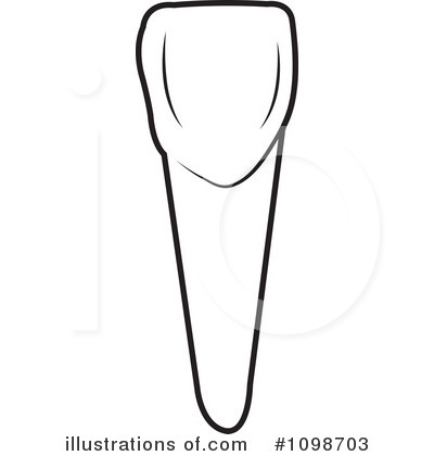 Canine tooth clipart.