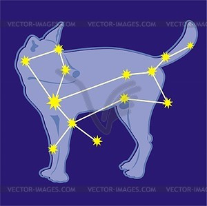 Canis Major Clip Art.
