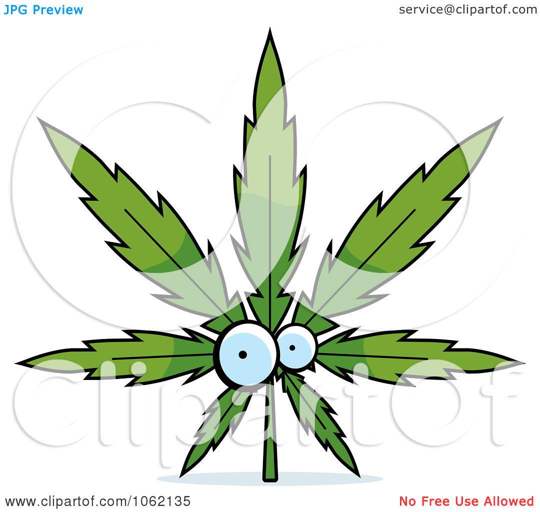 Cannabis leaf clipart.