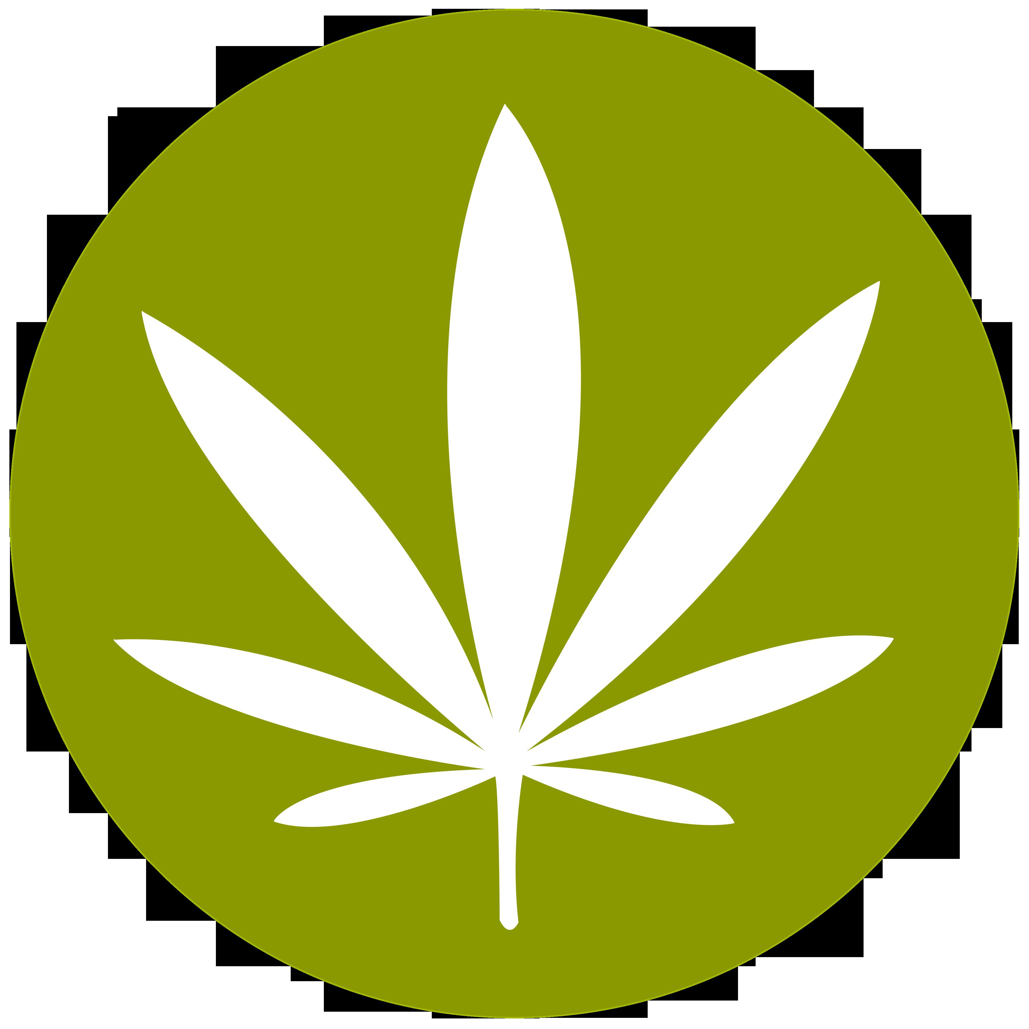 Weed Leaf Clip Art.