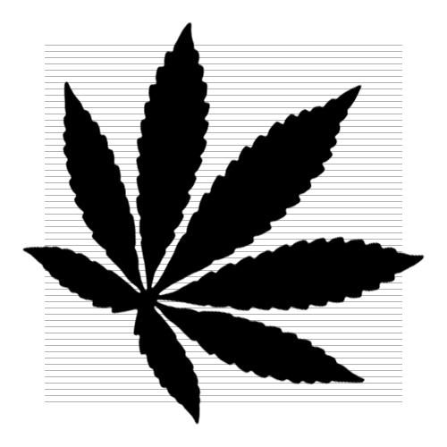Clipart cannabis leaf.