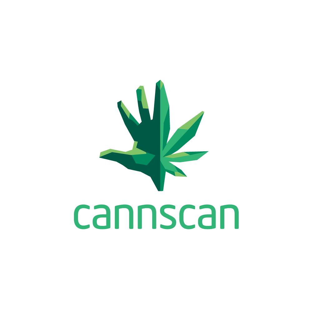 For Sale: Cannscan Hand Leaf Logo.