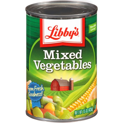 Clipart canned vegetables.