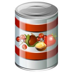 Canned food clipart transparent.