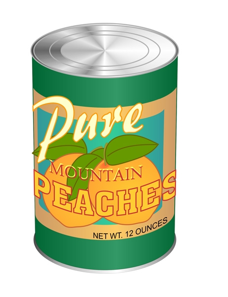 Canned food clipart free.