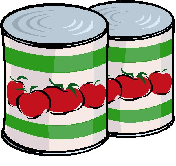 Canned cliparts.