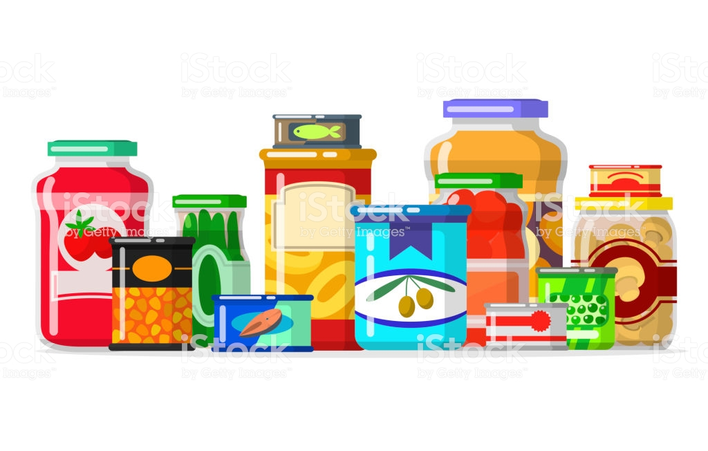 canned goods clip art #9