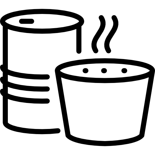Canned soup Icons.