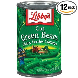 Canned Vegetables Clipart.