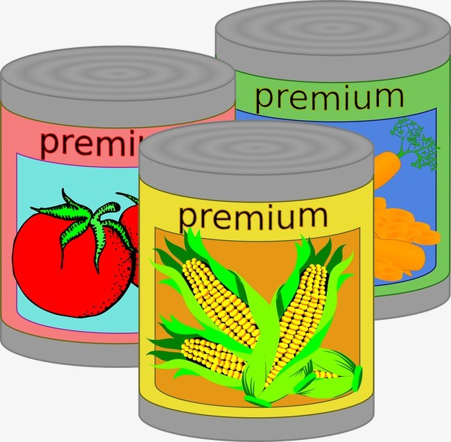 Canned vegetables clipart 5 » Clipart Portal.