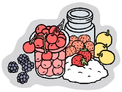 Home Canning Clipart.