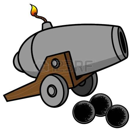 Cannon clipart 3 » Clipart Station.