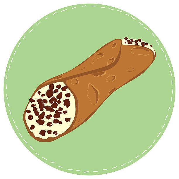 Best Cannoli Illustrations, Royalty.