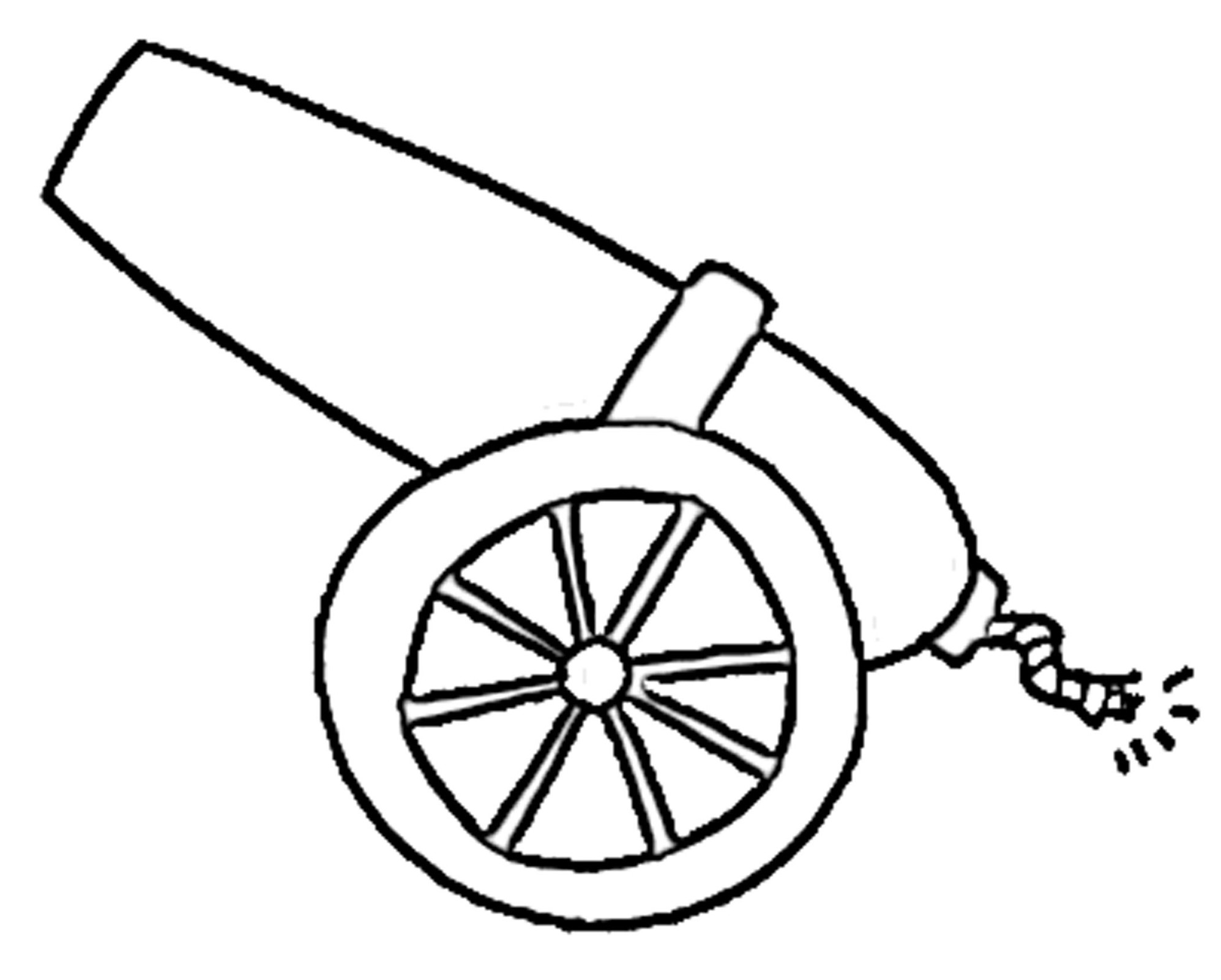 Cannon Clip Art Vector Free For Download Clipart.