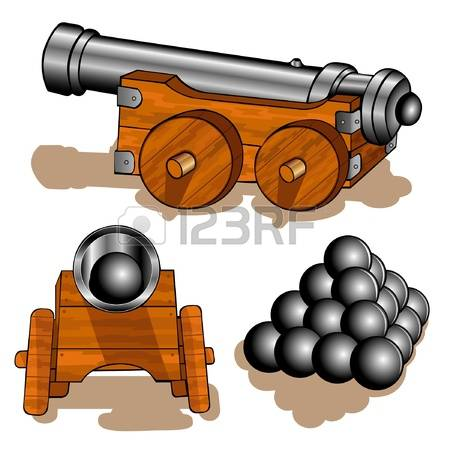1,038 Cannon Ball Stock Vector Illustration And Royalty Free.