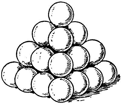 Cannon ball clipart.