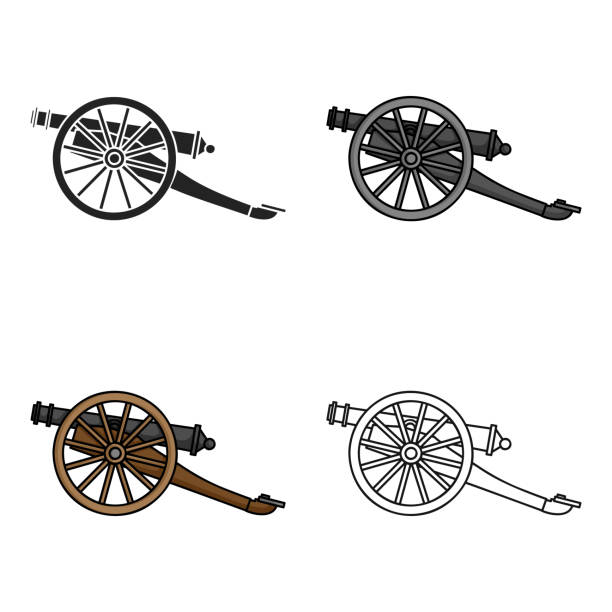 Best Cannon Illustrations, Royalty.