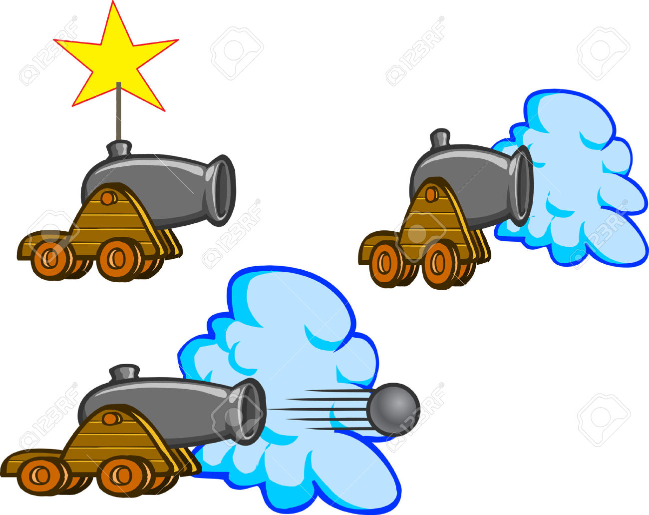 Cannon Firing Clipart (44+).