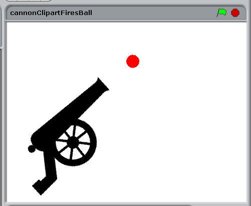 Cannon Clipart Fires Ball.