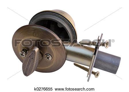 Stock Image of Deadbolt Cannon k0276655.