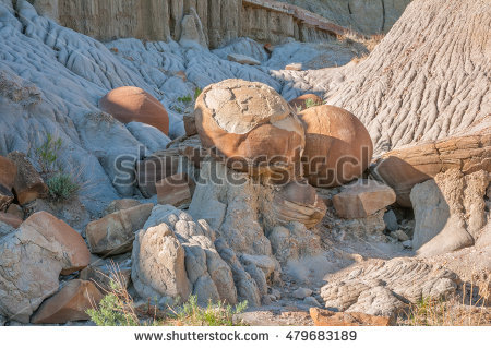 Cannonball Concretion Stock Photos, Royalty.
