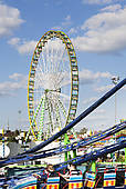 "Picture of ""Fairground, rides, Stuttgart Beer Festival."