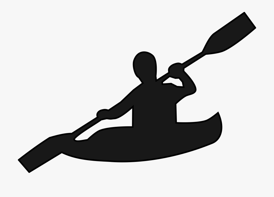 Canoeing Clipart.