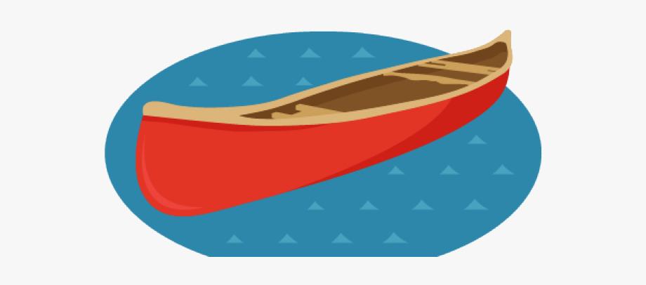 Canoe Clipart Logo.