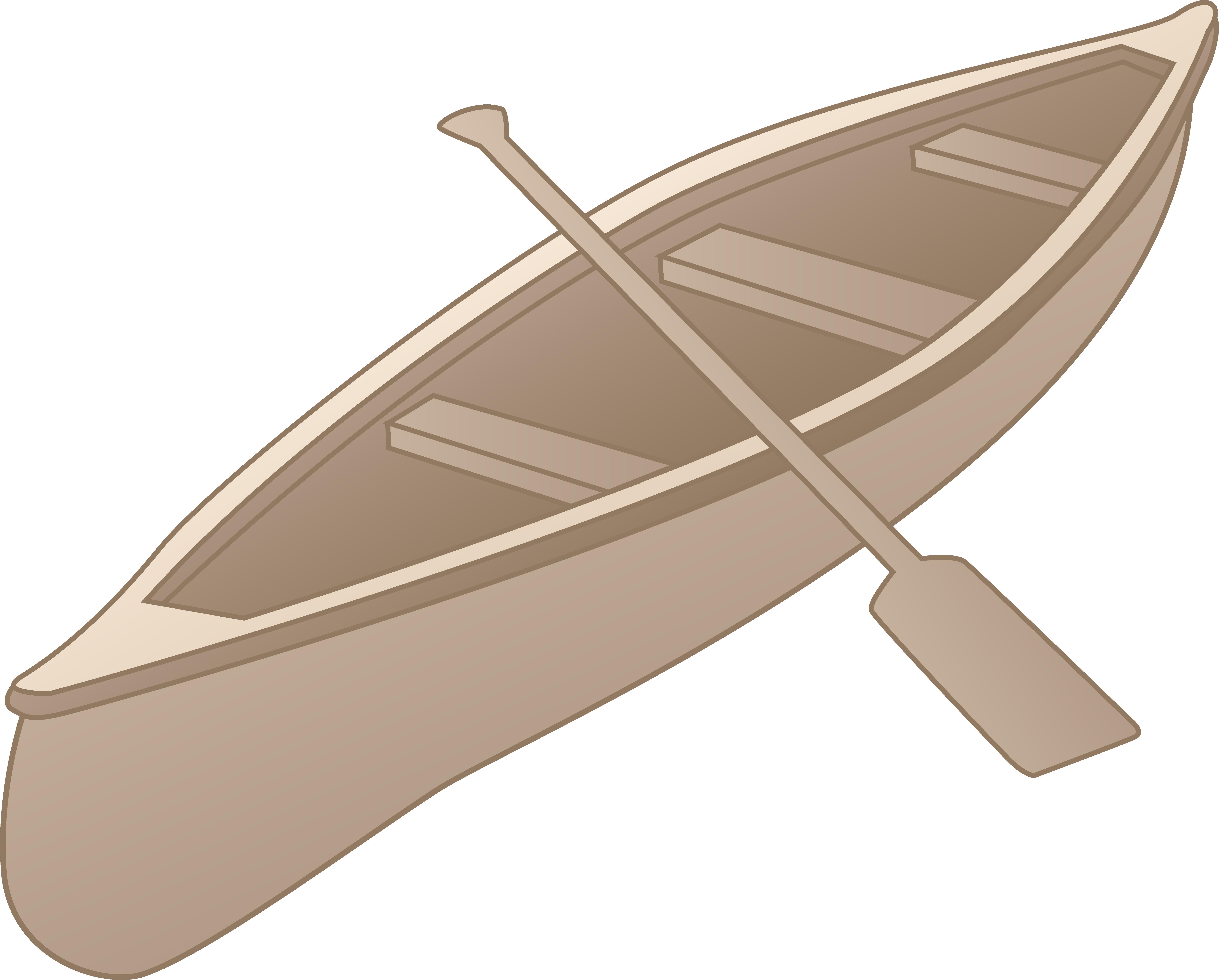 Canoe clipart.