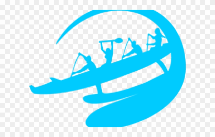 Paddle Clipart Outrigger Canoe.