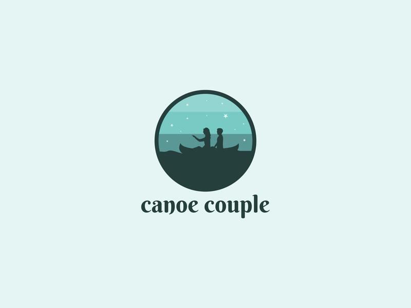 Canoe Couple Logo by Noman Sajjad Kiyani on Dribbble.