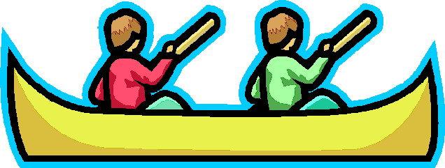 Gallery For > Canoeist Clipart.