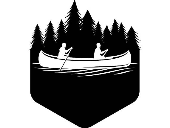 Collection of free Canoes clipart canoe river. Download on.
