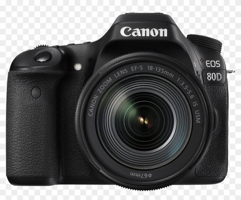 Download Canon 80d Dslr Camera Png Transparent Images.