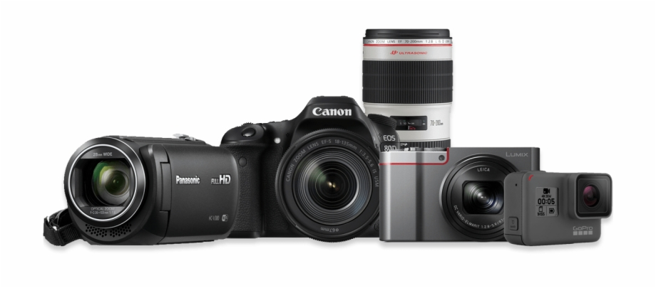 Canon Camera Png Free PNG Images & Clipart Download #939239.