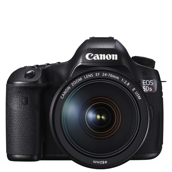 Professional DSLR Cameras.