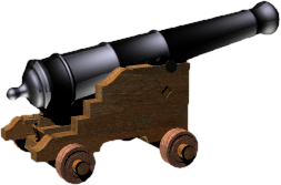 Cannons Clipart.