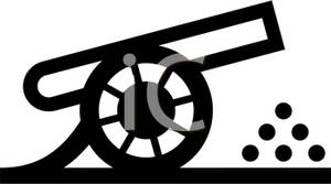 Simple Cannon Clipart.