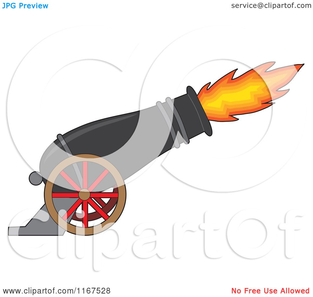 Showing post & media for Cartoon cannon clip art.