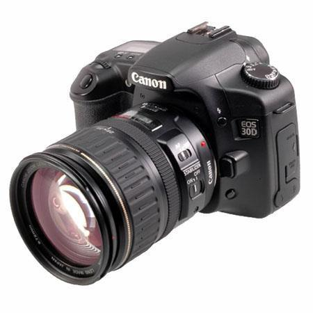 Canon EOS 30D 8.2 MP DSLR Camera with Canon EF 28.