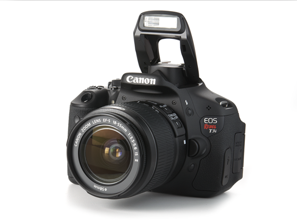 Canon EOS Rebel T3i 18MP Digital SLR.